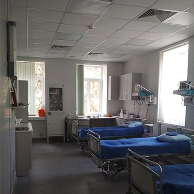 Открылось обновленное отделение кардиореанимации и стационарной помощи